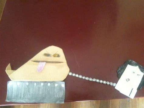 how to fold origami jabba the hutt jabba the puppett princess leia origami yoda