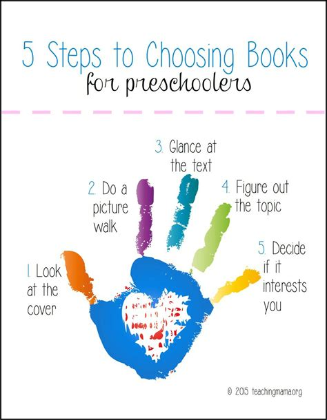how to your picture book teaching preschoolers how to out books independently
