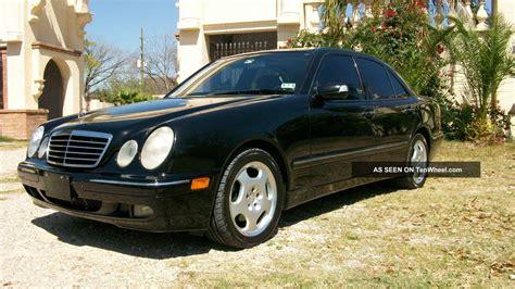 2001 Mercedes E430 by 2001 Mercedes E430 Sedan 4 Door 4 3l Dealer Serviced