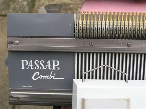 passap knitting machine vintage passap swiss made knitting machine single