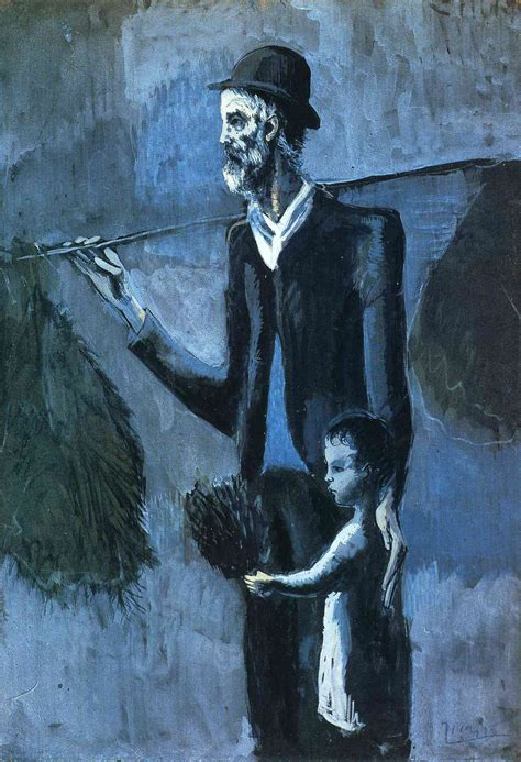 picasso paintings blue seller of gul picasso pablo wikiart org