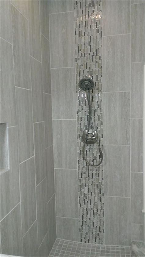Bathroom Shower Stall Tile Designs master bathroom complete remodel 12 quot x 24 quot vertical tile