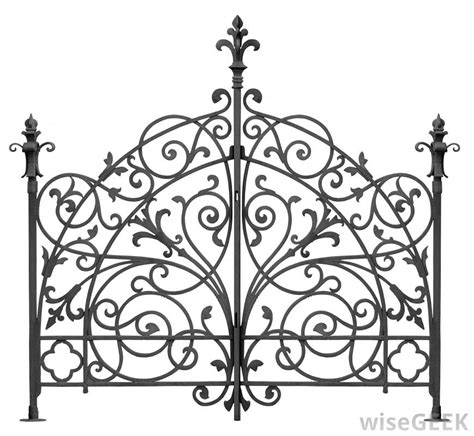 iron designs what are the different styles of wrought iron design