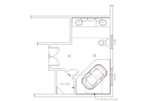 bathroom floorplans master bathroom floor plans master bathroom layouts hgtv