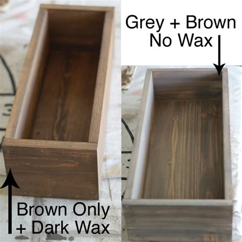 chalk paint that looks like stain faux stain with chalk paint