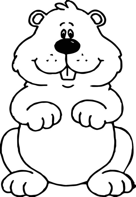 groundhog day best printable coloring pages for groundhogs day printable