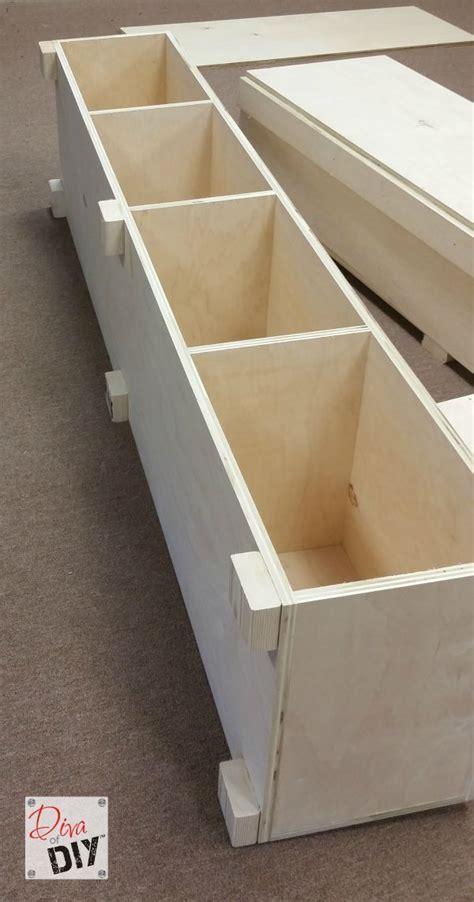 build platform bed how to make your own diy platform bed with storage