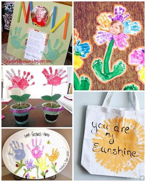 mothers day crafts for to make s day handprint crafts gift ideas for to