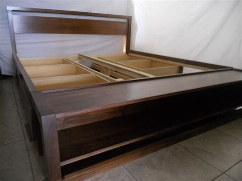 king size bed frame with storage king size bed frame with storage decofurnish