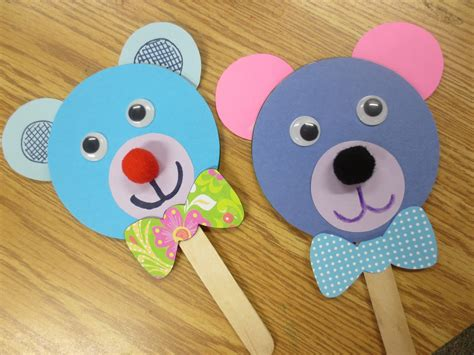 puppet crafts for image popsicle stick puppets