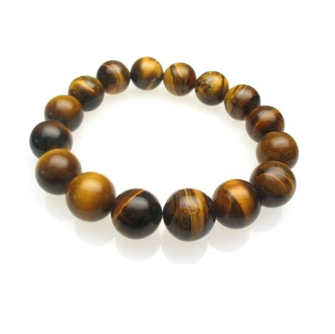 tiger eye bead bracelet golden tiger eye bead bracelet 10mm 12 mm bb020