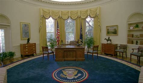 Obama Oval Office Decor president trump s white house remodeled in five hours from
