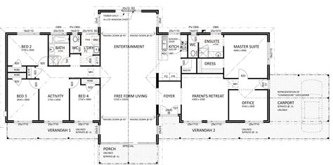 floor plan friday for views on a semi rural setting