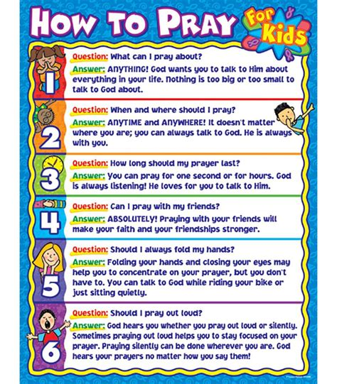 how to use prayer how to pray for chart grade pk 5 carson dellosa