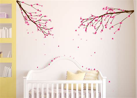 tree branch wall decal nursery large wall nursery tree branch baby decal cherry blossom