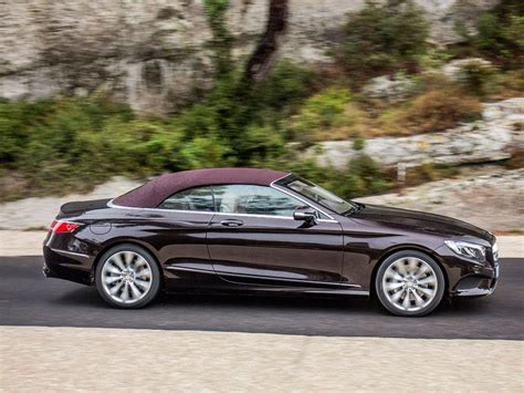Mercedes S Class Convertible by 2017 Mercedes S Class Cabriolet Road Test And Review