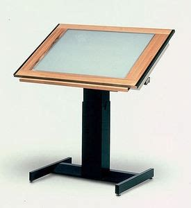drafting table light box drafting table with built in light box oh so many uses