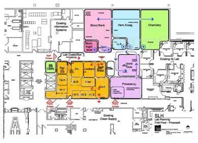 clinical laboratory floor plan tkh tchoukaleff hartke st luke s episcopal