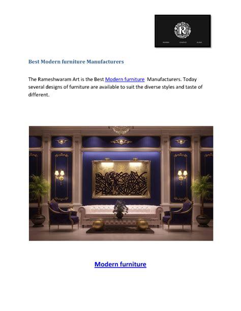 modern furniture manufacturer best modern furniture manufacturers authorstream
