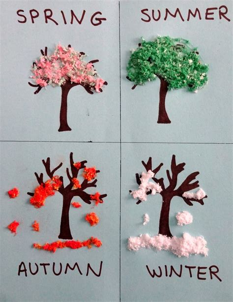 seasons crafts for s tot school waddles by david mcphail