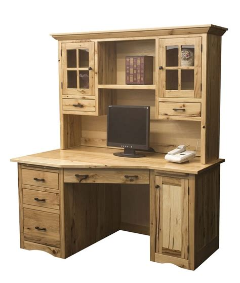 home desks with hutch amish mission computer desk hutch solid wood home office