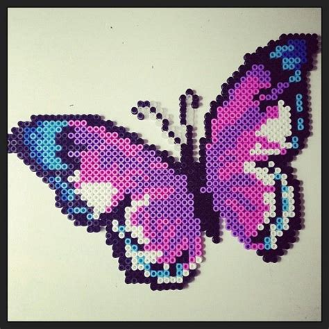 Butterfly Hama Perler By Pagey163 Perler