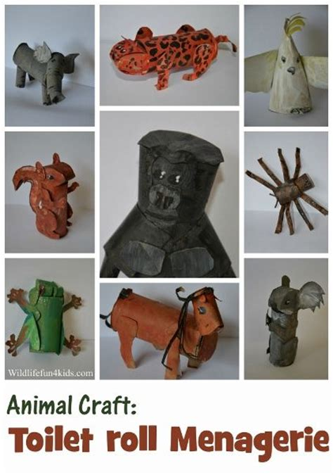 toilet paper roll crafts animals pin by l r smith on paper towel toilet paper rolls