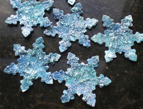 snowflake craft snowflake ornaments keepsake crafts