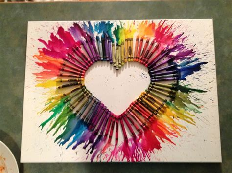 Crayon Arts And Crafts Project Favorite Crafts