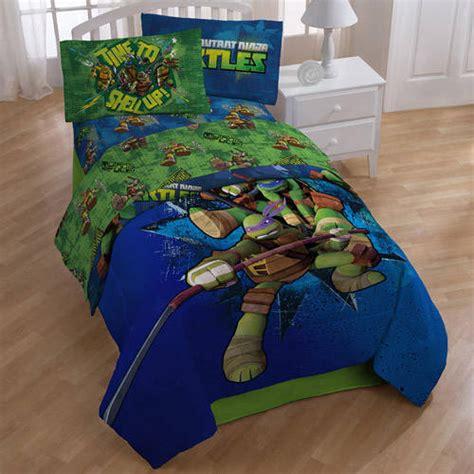 mutant turtle bed set mutant turtles sheet set walmart