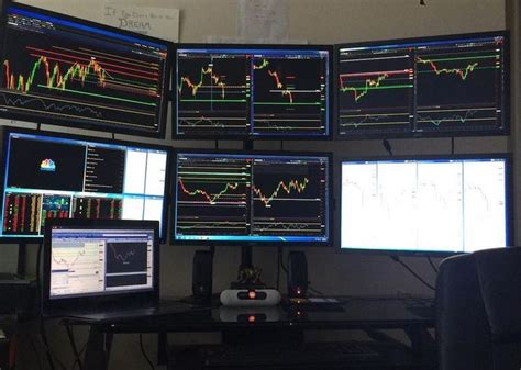 Cool Computer Desks trading desk setup learn to trade stocks amp options