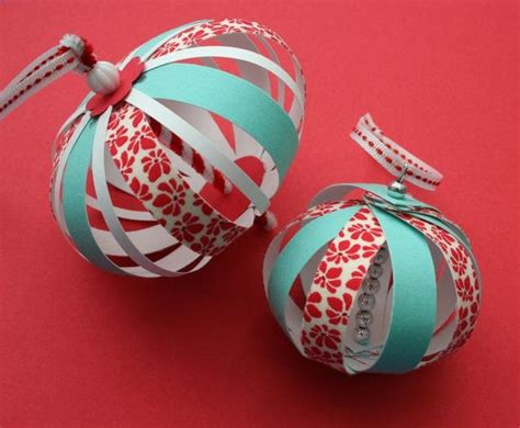 paper balls craft mmmcrafts experimenting with paper fabric ornaments