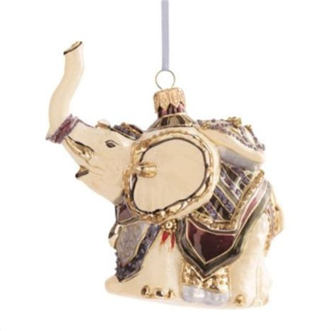 elephant tree decorations elephant ornament asian ornaments by gump s