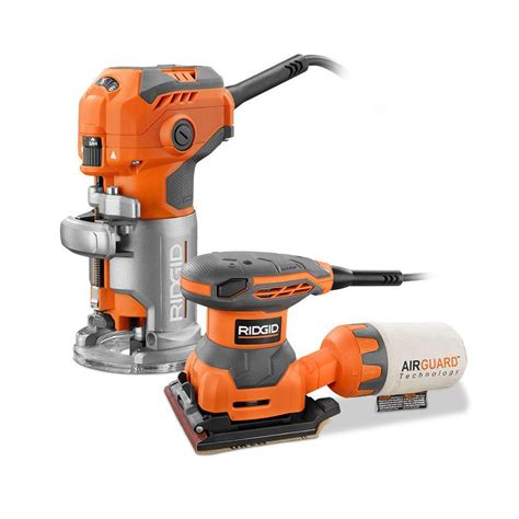 cordless routers woodworking ridgid trim router fixed base plunge laminate trimmer