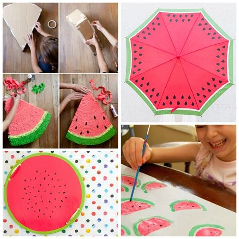 diy summer craft projects watermelon crafts diy projects for summer crafty morning