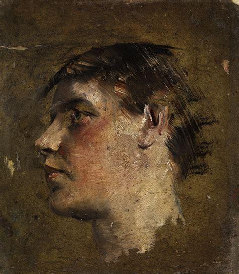 Description Of Artwork by File Max Klinger Portrait Eines Jungen 1909 Jpg