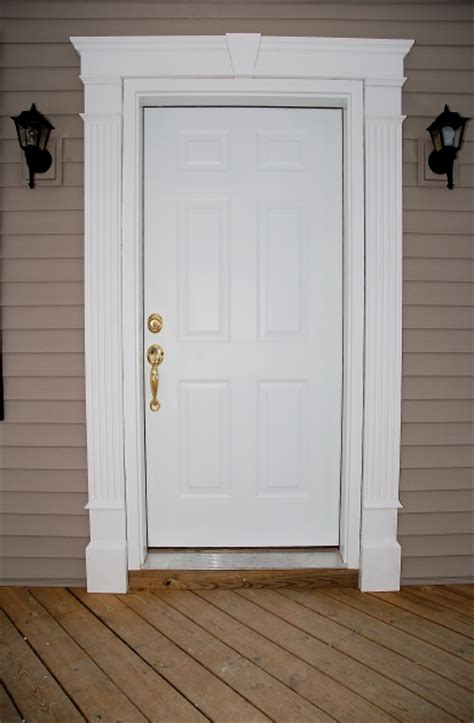 exterior door trim ideas front doors creative ideas door entrance