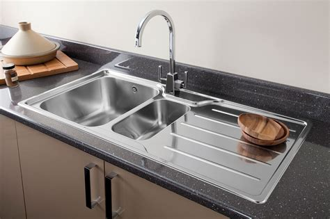 kitchen sink picture chrome or brushed steel finish kitchen tap for your