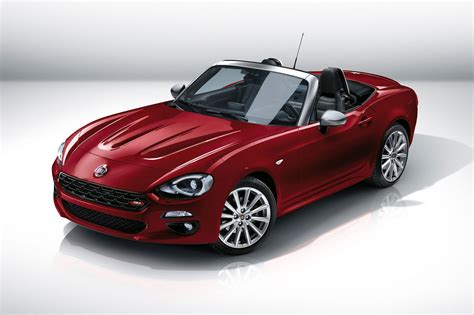 Fiat 124 Spider revealed at 2015 LA show: Fiat?s MX 5