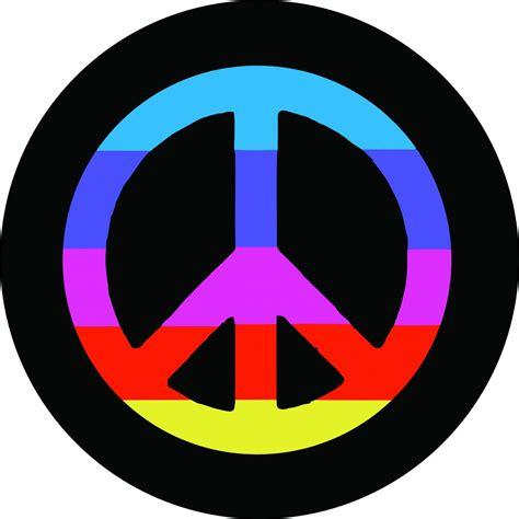 peace sign rainbow peace sign 165