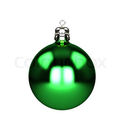 green baubles decorations green decorations baubles isolated on white