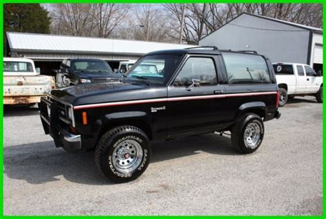 how cars engines work 1988 ford bronco security system classic 1988 ford bronco ii v6 5 speed for sale detailed description and photos