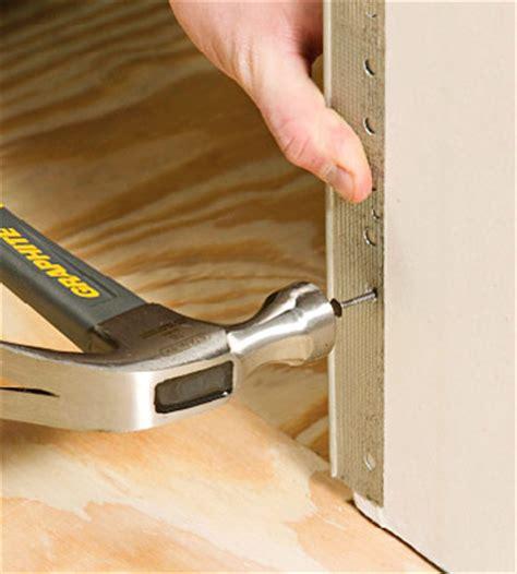 install corner bead how to install corner drywall installation repair