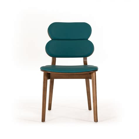 turquoise dining chairs raeanne modern turquoise walnut dining chair set of 2