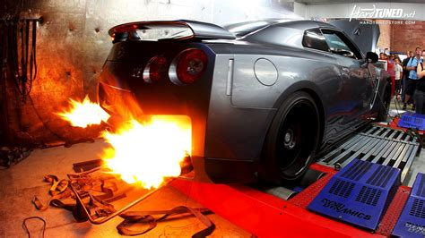 Car Exhaust Wallpaper by Exhaust Car Nissan Gt R Wallpapers And Images