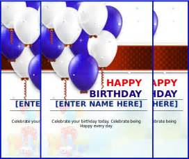 how to make birthday cards on microsoft word 10 ms word format birthday templates free free