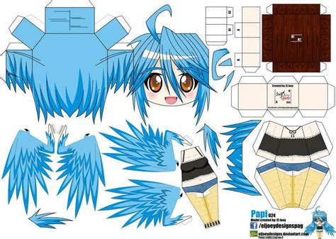 paper crafts anime musume papercraft anime amino