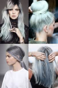 popular trending gray hair colors sneak peek at hair color spring 2015 a little bit of