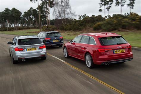 Bmw 3 Series Vs Audi A4 by Audi A4 Avant Vs Bmw 3 Series Touring Vs Vw Passat Estate