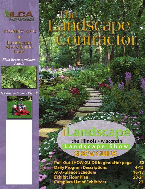 landscape contractor magazine the landscape contractor magazine february 2016 by